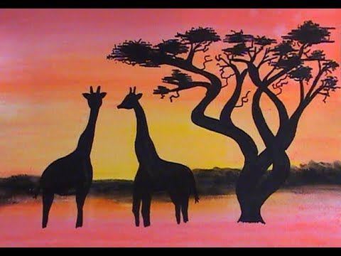 """Résultat de recherche d'images pour """"images paysage africain au pastel tutoriel"""""""