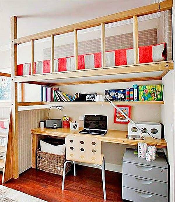 """Selecione algumas ideias para conseguir """"criar"""" mais espaço no apartamento pequeno, onde tudo tem que ser milimetrado para conseguirmos guardar todas as coisas e ter o máximo conforto."""