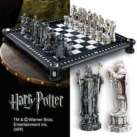 Harry Potter Final Challenge Chess Set -@- http://geekarmory.com/harry-potter-final-challenge-chess-set/