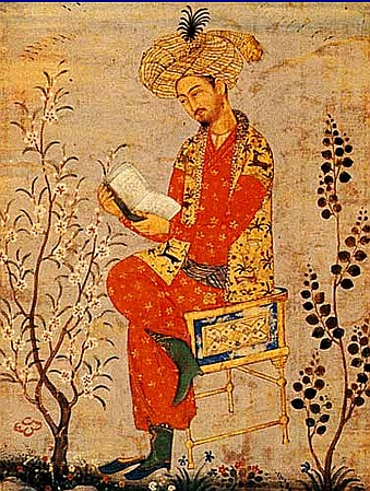 Babur was a turkic speaking central asian ruler descended from Timur a Turko-Mongol and Genghis Khan a mongol. Ousted from Central Asia, Babur pushed through the Khyber Pass into northern India from Afghanistan in 1526 forming the Mughal (Mongol) Empire. His son Humayun was driven out into Persia but forged diplomatic ties with the Safavid Courts. Cultural contacts between India and Iran formed an Indo-Persian styled empire after his return in 1555. His son Akbar consolidated the Mughal…