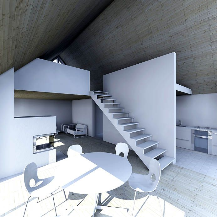 Sunhouse L1 - interior. Architect: Jarkko Könönen
