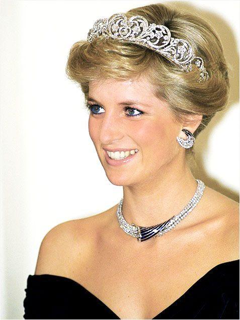 A stunning Princess Diana