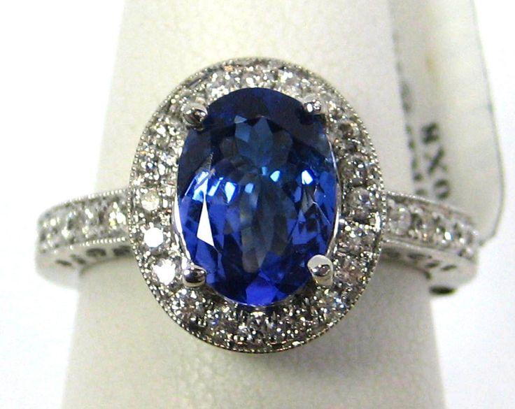 "awesome От #eBay: ""El oro blanco natural tanzanita anillo de diamantes de halo 2.13ct AAA 14K GRATIS APP $ 4,492.71 "" Check more at http://visionaryaline.com/fr/2017/03/15/%d0%be%d1%82-ebay-el-oro-blanco-natural-tanzanita-anillo-de-diamantes-de-halo-2-13ct-aaa-14k-gratis-app-4492-71/"