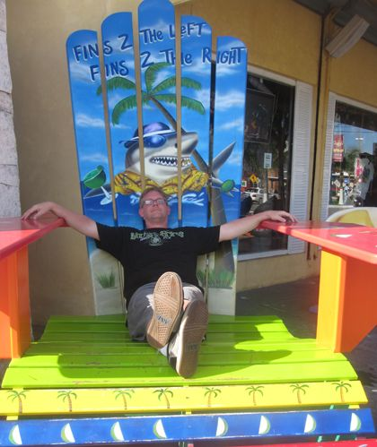 Huge Margaritaville Chair