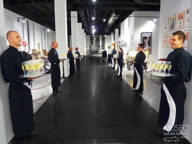 Cocktail de bienvenida al Museo