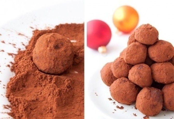 Narancsos-csokoládés trüffel (Trüffel 3.)