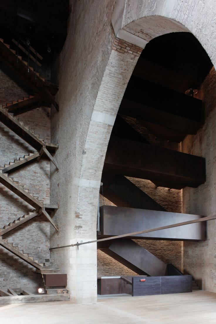 magnanni pelzel architetti associati / recupero della torre di porta nuova, arsenale di venezia