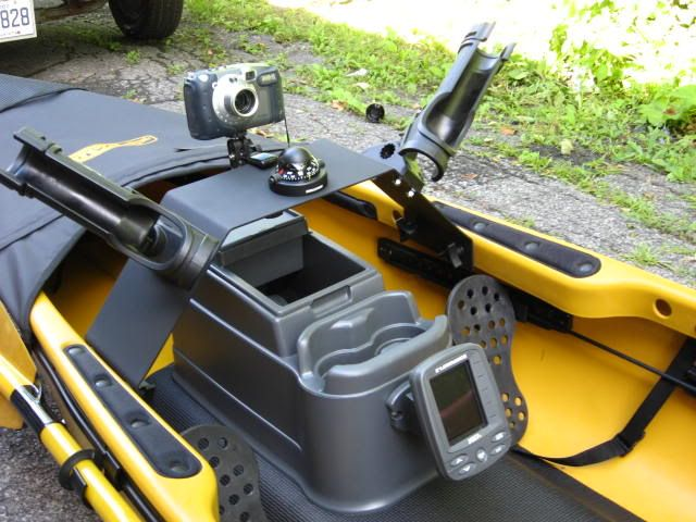 Kayak Fishing Forum :: Topic: Dash and center console for Native Ultimate (1/1)