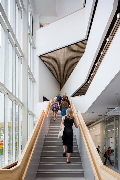 Penoyre & Prasad completes new architecture school building for University of Portsmouth.