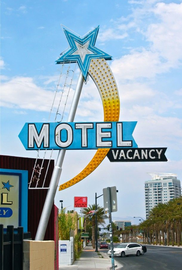 Star Motel on 1418 S 3rd Street with its Restored Vintage Neon Sign