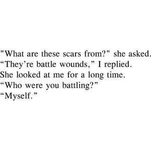 I'm so hard on myself.