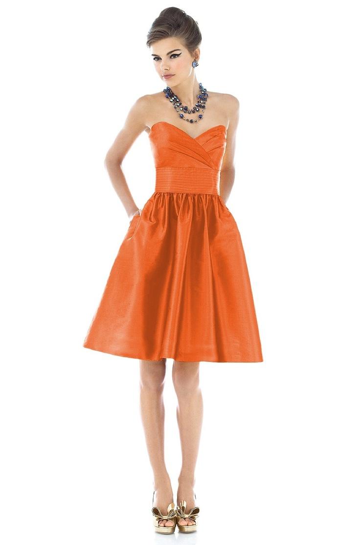 19 best bridesmaids dresses images on pinterest bridesmaids alfred sung d540 bridesmaid dress weddington way mandarin in dupioni ombrellifo Gallery