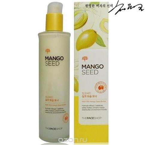 The Face Shop лосьон для лица Mango Seed Silk Moisturizing Lioton, 125 мл