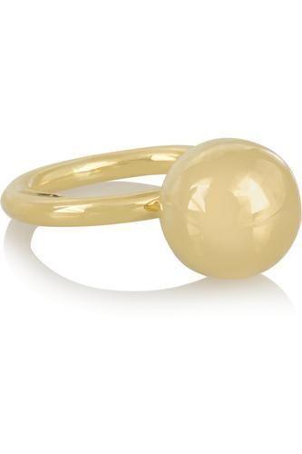 Cyclos 18-karat gold ring #ring #covetme #elenavotsi