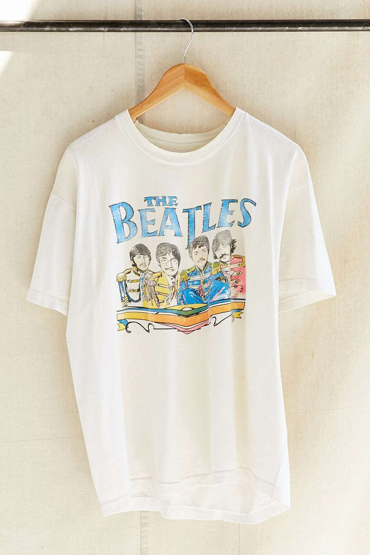 Vintage The Beatles Band Tee - Urban Outfitters