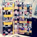 Portafogli - Gelso - Portafoglio di carta intrecciata - un prodotto unico di Uno-piu-uno-uguale-sette su DaWanda