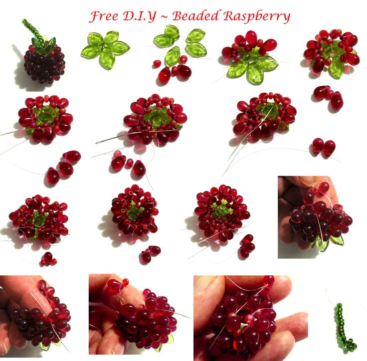 * FREE Tutorial for Beaded Raspberry featured on Bead-Patterns.com Newsletter!