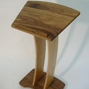 Love this from @custommade - http://www.custommade.com/contemporary-podium-book-stand-music-stand-pulpit/by/cooltimbers/