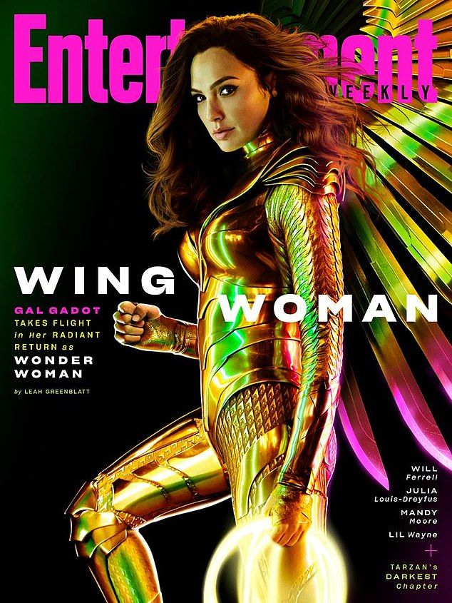 Gal Gadot Suits Up In New Gold Winged Armor For Wonder Woman 1984 In 2020 Gal Gadot Wonder Woman Wonder Woman Gal Gadot