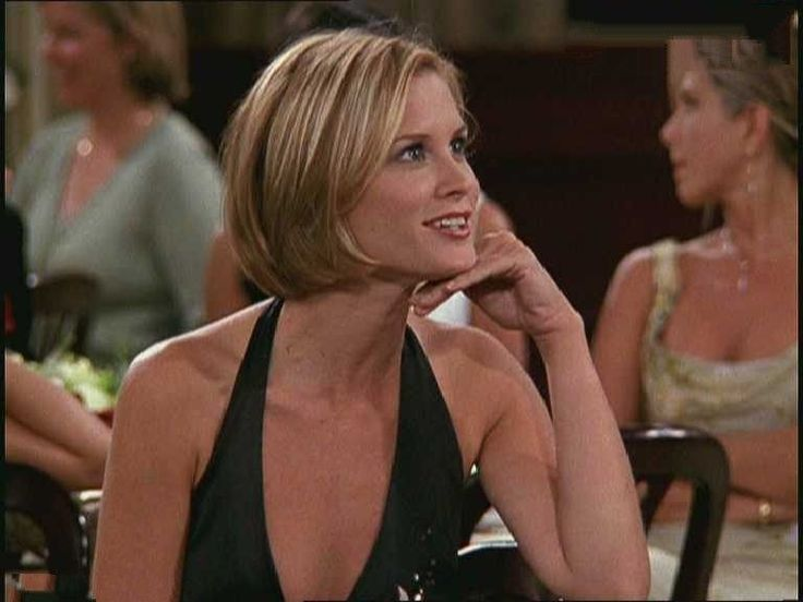 Bonnie Somervile (Mona from Friends TV show) -like this bob haircut!