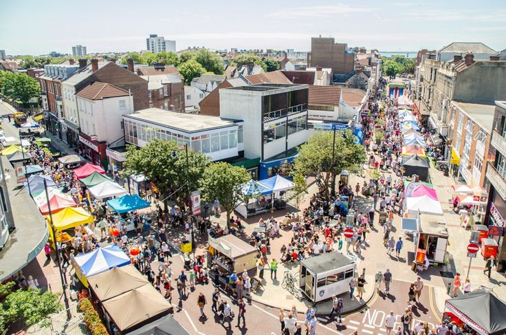 Southsea Food Festival, Palmerston Road