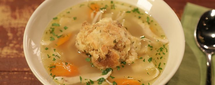 Your family will go crazy for these Chicken & Bread Dumplings!