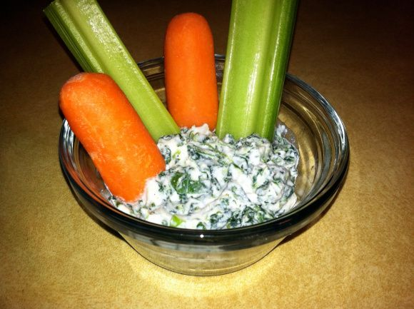 Weight Watchers Veggie Dip