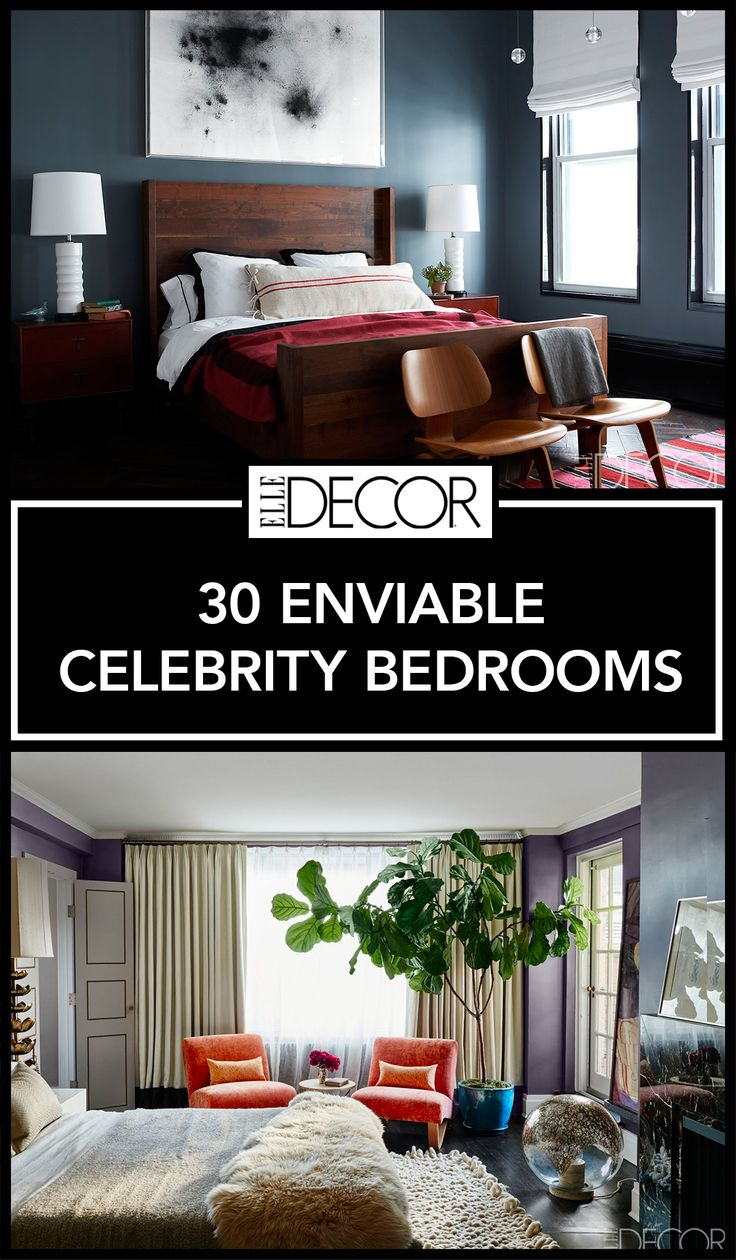 Beautiful bedroom interiors - 30 Gorgeous Photos Of Celebrity Bedrooms