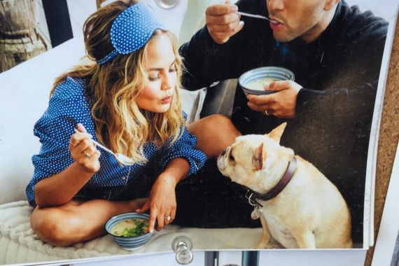 You might want to take a seat for this one, foodies: Chrissy Teigen is giving birth to her cookbook prematurely.
