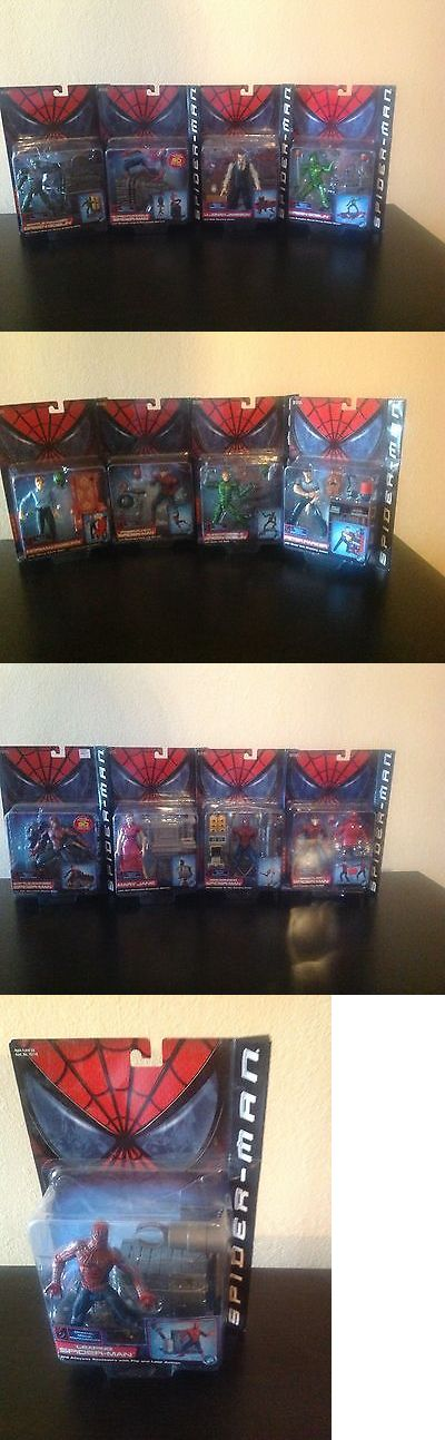 Spider-Man 146094: Spiderman Series 2 Action Figure Lot - Toy Biz 2002 -> BUY IT NOW ONLY: $599.99 on eBay!