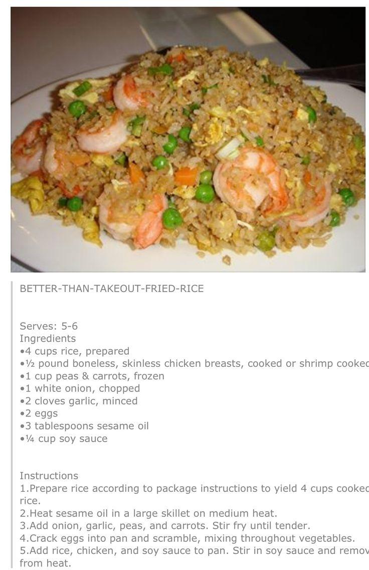 Fried rice.Yum.