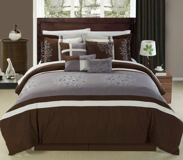 Caroline 12 Pc Bed In A Bag By Luxury Bedding Co.   Bed In