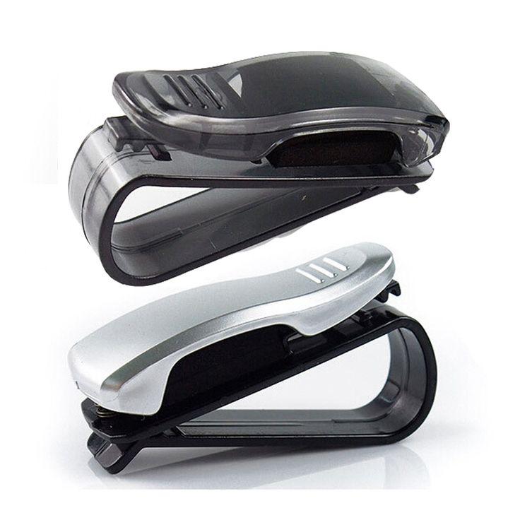 Auto Fastener ABS Car Vehicle Sun Visor Sunglasses Eyeglasses Glasses Holder Card Ticket Pen Clip Automotive Accessories