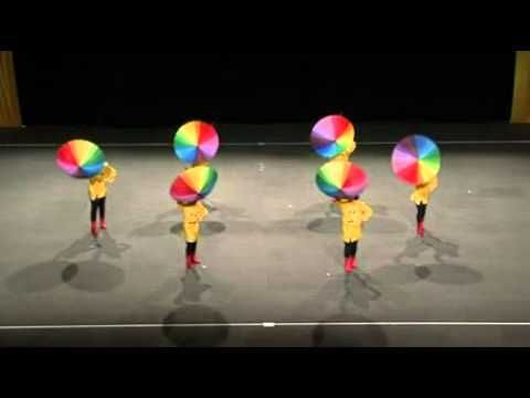 My School Video Pt display Hoop Drill Dance Yaha Par har kadam kadam pe dharti badle rang song Gathering 2016