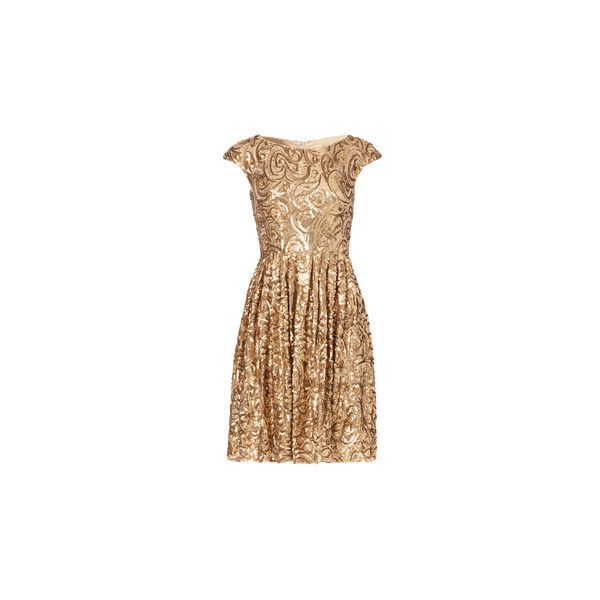 Rent Dresses by Badgley mischka Rent the Runway via Polyvore featuring dresses, going out dresses, night out dresses, short party dresses, beige short dress and short dresses