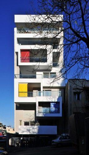 Urban Cubes bldg in Athens by KLab