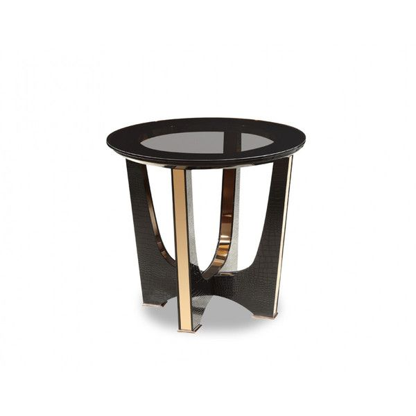 Black Glass Tables best 25+ black end tables ideas on pinterest | end tables
