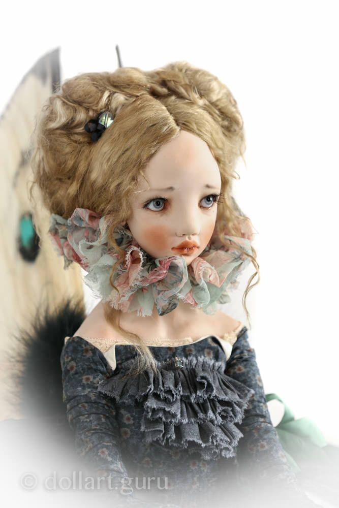 Moth. Art doll by Alisa Filippova | Doll Art Guru