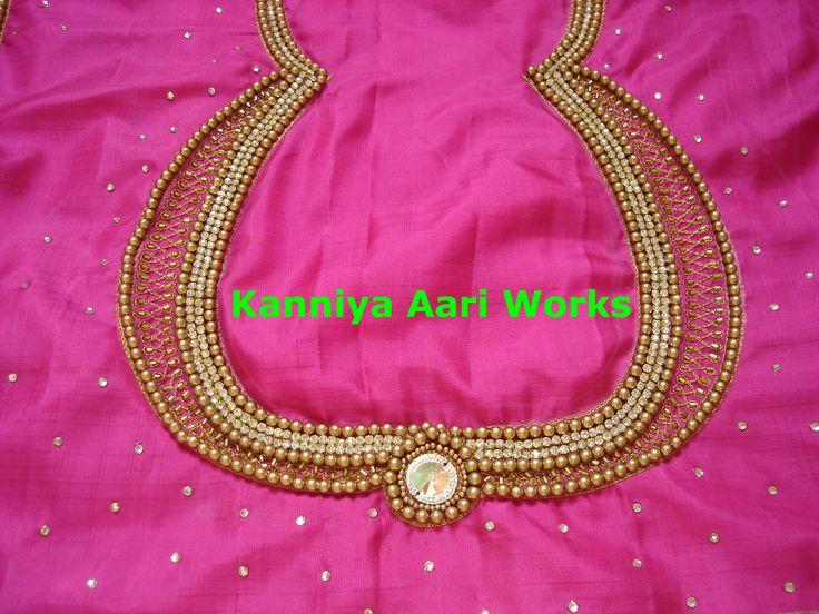 how to make aari work in tamil