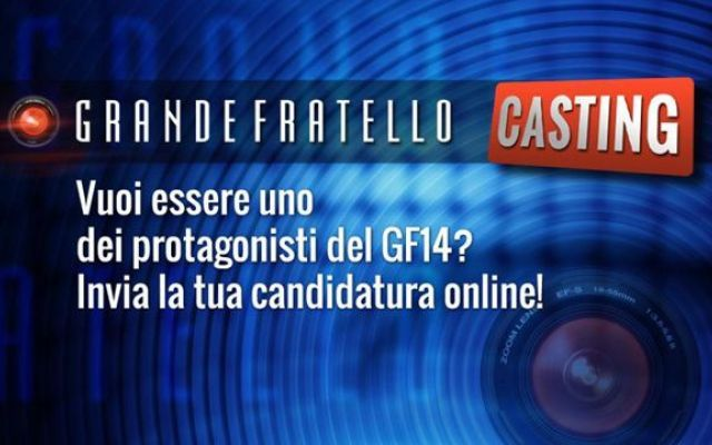Casting Grande Fratello 14 a Catania il 31 luglio. Come partecipare La data in cui si terrà i casting alla ricerca di nuovi concorrenti per popolare la 14esima edizione del programma è il 31 luglio 2015 a partire dalle ore 11.00. Per tutte le altre informazioni relat #grandefratello #gf14