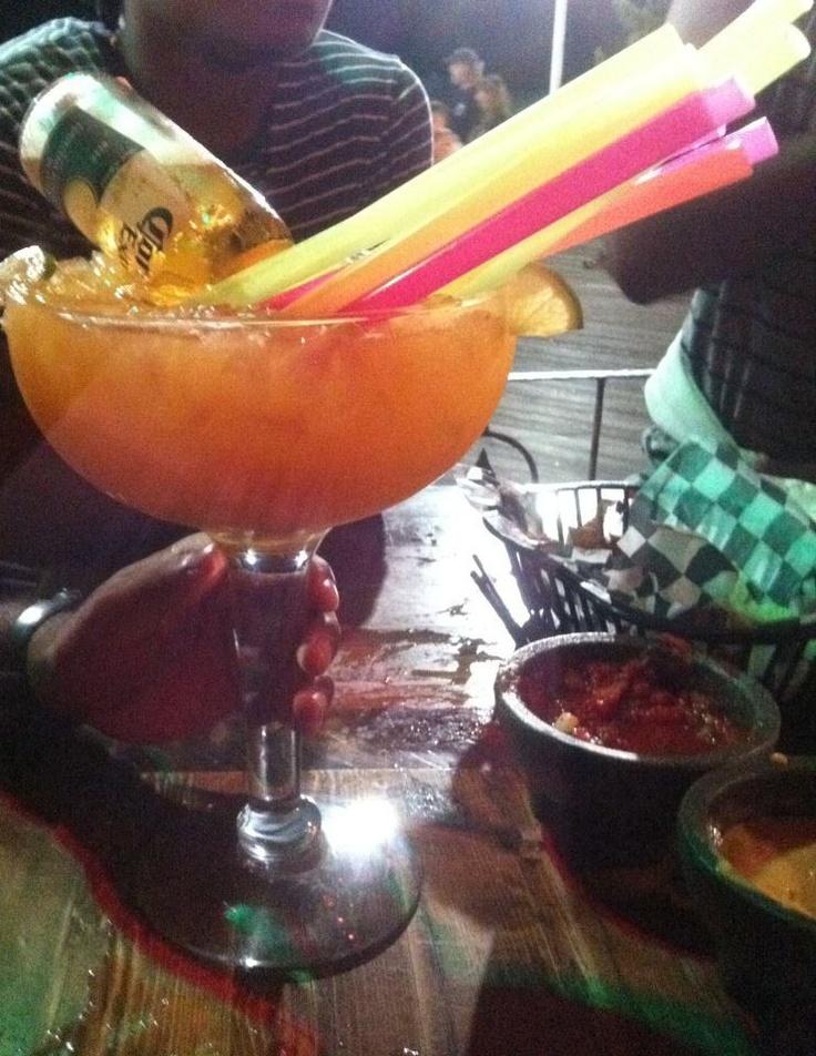 Bulldog Margarita Giant Margarita W A Corona In It Awesome