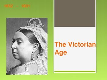 This 16-slide powerpoint is full of information about Queen Victoria, Britain's society during the time period, and the key writers during the time. The following topics are covered:1. England's growth2. Queen Victoria's life3. England's imperialism4.
