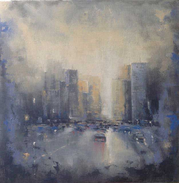 'City Abstract' by Dan Wellington