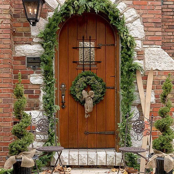 323 best tudor images on pinterest for the home antique for Home hardware christmas decorations