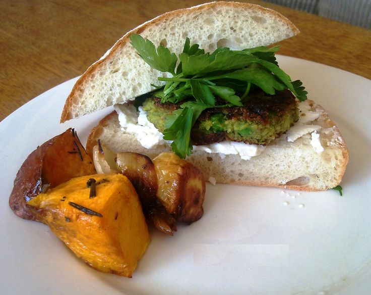 Recipe of the Week - Green Pea Vegie Burger A vegetarian burger which will please meat eaters too.