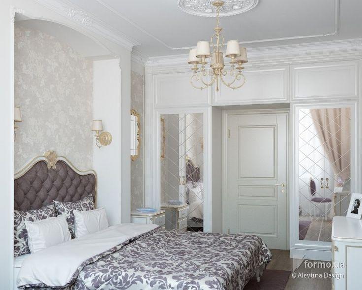 Элегантная классика, Alevtina Design, Спальня, Дизайн интерьеров Formo.ua