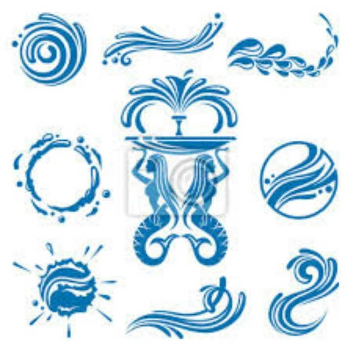 25+ best ideas about Water symbol on Pinterest | Zodiac symbols ...