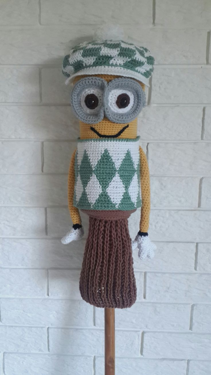 Coconut Crochet's version of Kevin...The golf club cover.