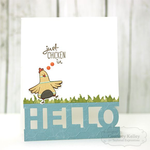 356 best Cards - chickens images on Pinterest | Chicken, Stampin ...