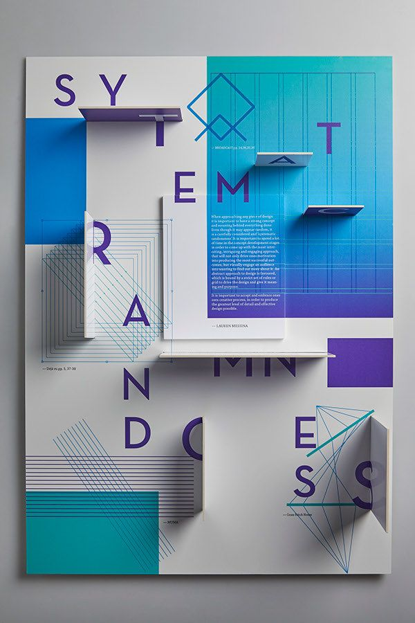 Poster / Systematic Randomness - Lauren Messina